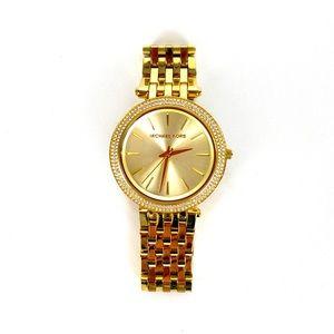Michael Kors MK3191 Gold & Diamond Watch Small***